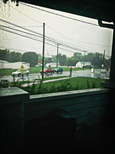 beautiful rainy day.