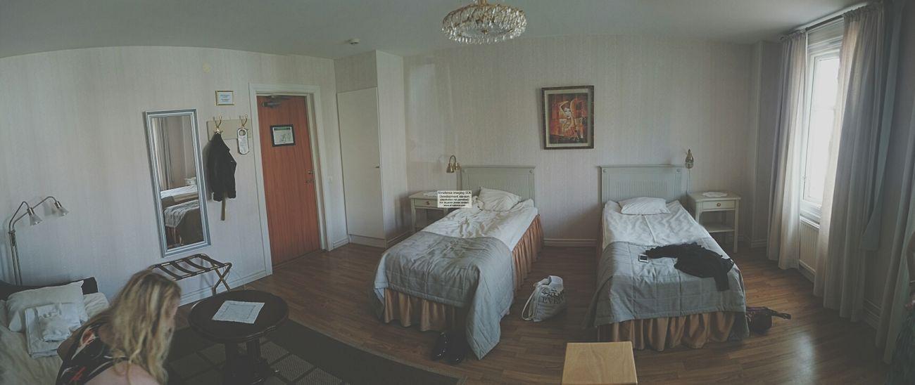 vårt hotellrum i Filipstad efter bröllopet. Hotel Room Hotel