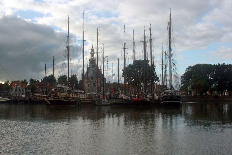An Eye For Travel Sailing Ship Vriesland Friesland Hoorn, Netherlands Nautical Vessel Niederlande Traditional Ship Waterfront