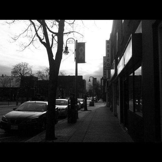 Street Streetphotography Blackandwhite 3GS iphoneonly badass oshawa