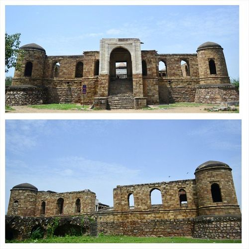 Sultan-i-Ghari : Tomb of Nasiru'd-din Mahmud, eldest son of Illtutmish and brother of Razia Sultan. This is the first Islamic mausoleum built in Delhi Heritage Monument OldPlaces Vasantkunj Nofilter
