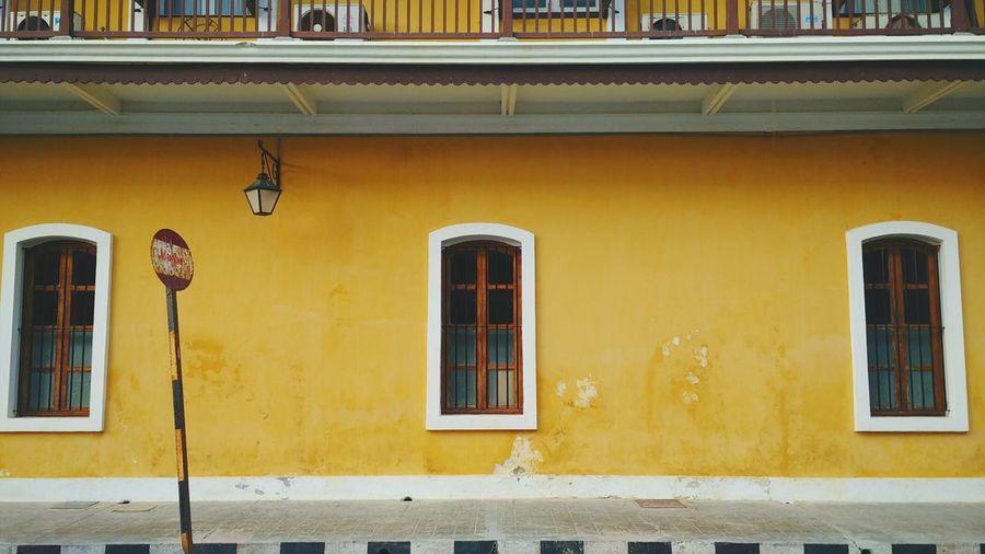 Pastel Power French Architecture Pondicherry India Travel Travelphotography