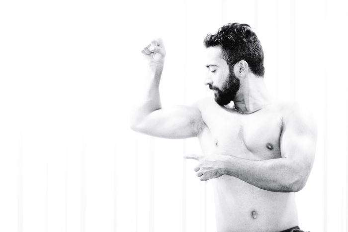Prashant Pandat - Abshine photography Abshine Abshine_photography Canon Canon1200d Model Delhi Delhiboy Smarty Beard Only Men Tattoo One Man Only Shirtless One Person Adults Only Muscular Build Adult Handsome Human Body Part White Background Macho