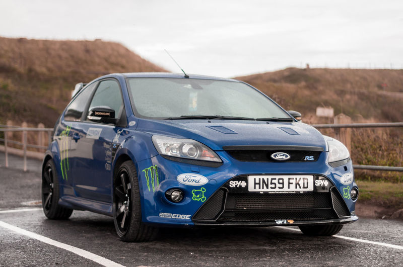 Car Car Park Cars Day Ford Ford Focus Ford Focus Rs No People Old-fashioned Outdoors Rain Rally Rally Car EyeEmNewHere