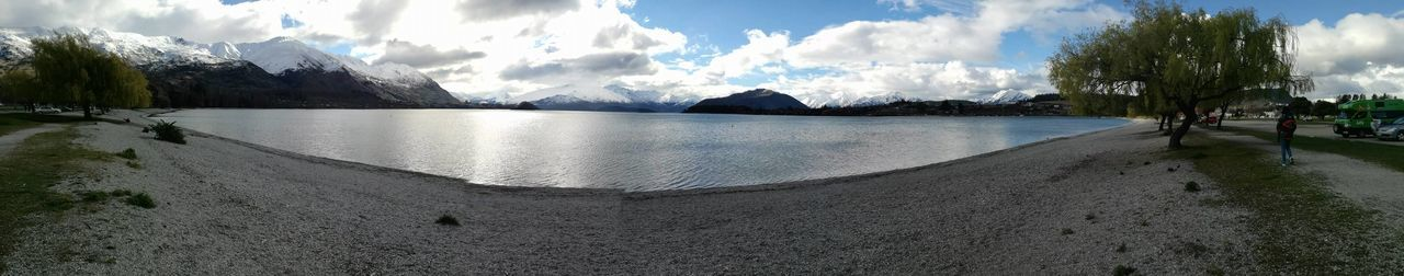 New Zealand Beauty New Zealand Scenery Tranquility View Beauty In Nature Day Landscape Mountain Nature New Zealand No People Outdoors Panoramic Scenics Sculpture Sea Sky Travel Destinations Tree Water