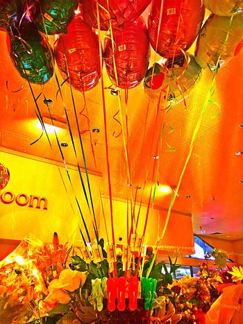 Festival Season Balloons Party Time Indoors  Colour Of Life Color Palette Shinning Bright Colors Colorful What's On The Roll Interior Style Eyeemphoto