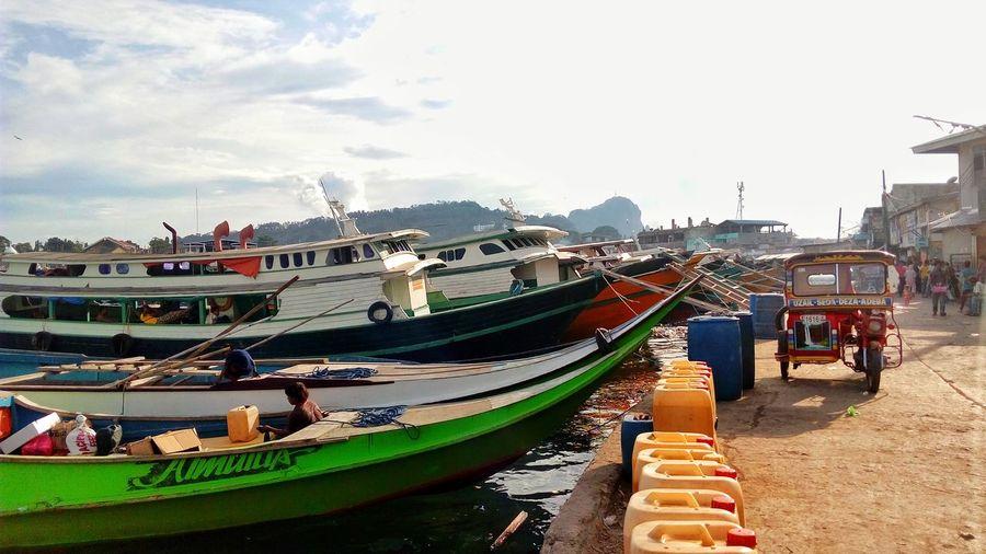 Travel Happy Mindanao Philippines Outdoors Sea Tawitawi Boat Boats Sulu Sea Philippine Sea Itsmorefuninthephilippines Tourism Tourism Destination Chinese Pier Bongao Bongao, Tawi Tawi