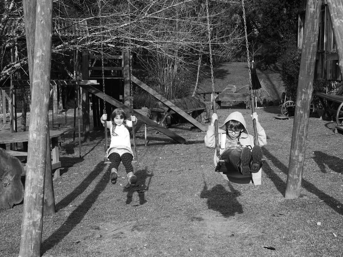 B&W Collection B&w Photography Blackandwhite Photography Brazil Casual Clothing Day Full Length Gramado Growth Kids Kidsphotography Leisure Activity Lifestyles Nature Outdoors Playground The Way Forward Tree
