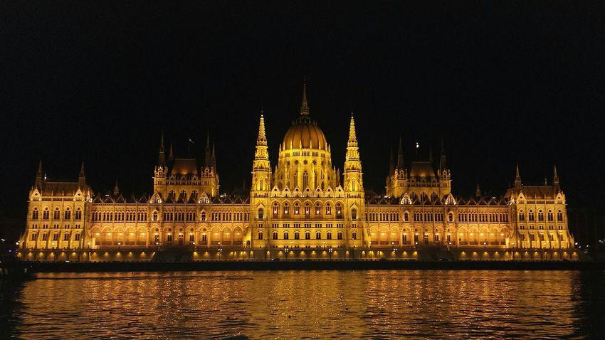 Budapest Parliament building at night Budapest Hungary Parliament