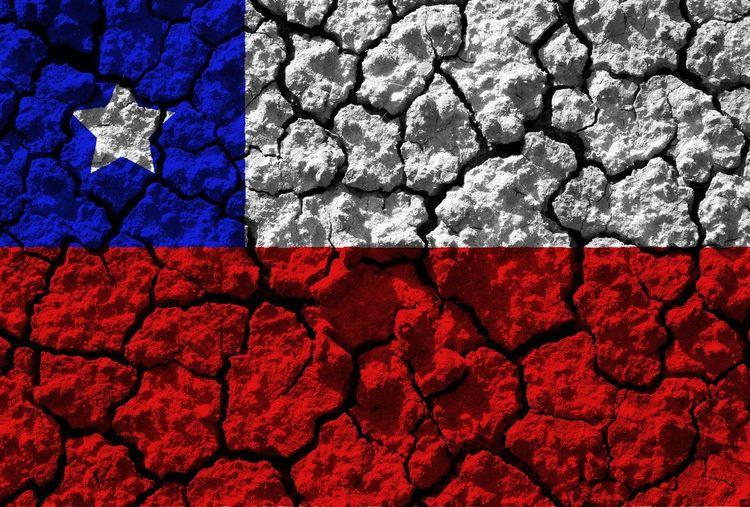 Chile flag Chile Flag America Sud Santiago Star Blue Red Window Patriotism Textured  Colors Symbol Emblemù