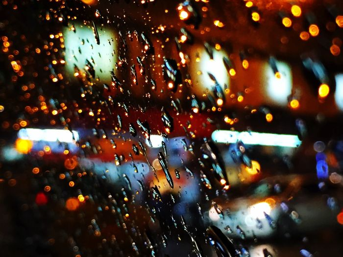Rain Street City 城市城事 雨天 雨 街 水珠 窗