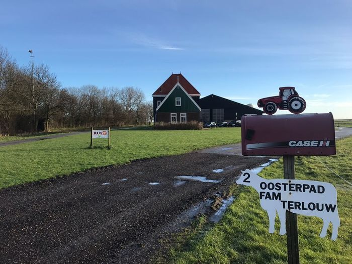 barn Marken Countryside Tradition Qualityoflife Sundayexploring Mailbox Amsterdam Farming Cows Netherlands Dutch #barn Sky No People Grass Outdoors Nature Road Day Tree