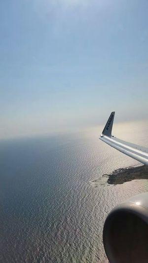 Sea View Beautiful Sky Landscape Photography Flight ✈