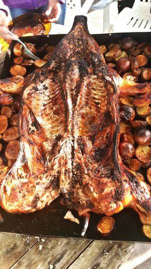 Comida Lechon Horno Chileno