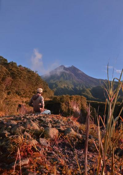 look that Jogja Travel Photography Indonesia_photography Mountain Sky Landscape Mountain Range Active Volcano Volcanic Landscape Volcanic Activity Bromo-tengger-semeru National Park East Java Province