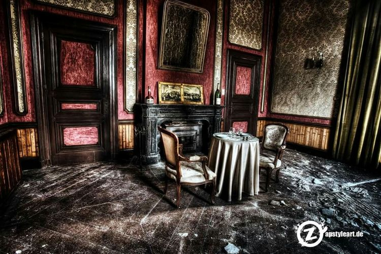 Dinner for 2 Check This Out Lost Place Lost Lostplaces Verlassene Orte Urbex Lostplace HDR Verlasseneorte Urban