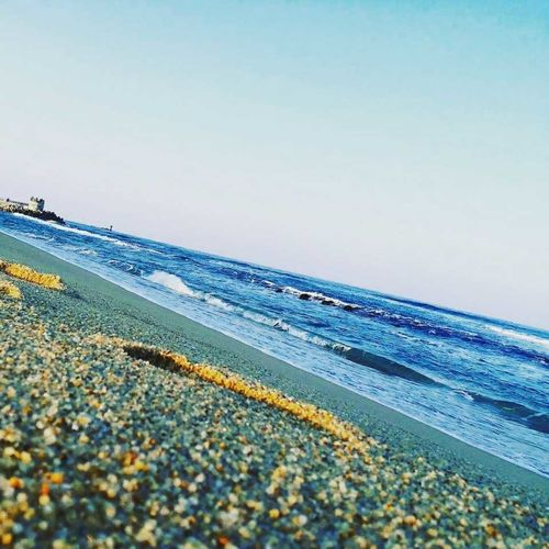 seaside Relievestress Beach Sea Horizon Over Water Nature Scenics Tranquil Scene Tranquility Beauty In Nature Clear Sky Outdoors Sky First Eyeem Photo