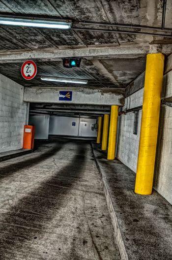 Streetphotography Ricoh Gr Ricoh Gr2 RICOH GR 2 Ricoh GR II HDR Hdrphotography HDR Effect Illuminated Built Structure Parking Garage Underground