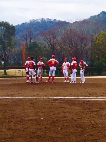 雨予報だったけど…降らなくて良かった(^O^)/ 野球 Baseball