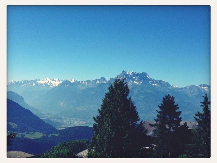 My view? Day32 Only2moredays Switzerland Summer14