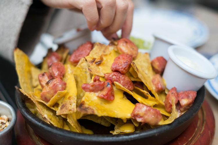 Close-Up Of Nachos