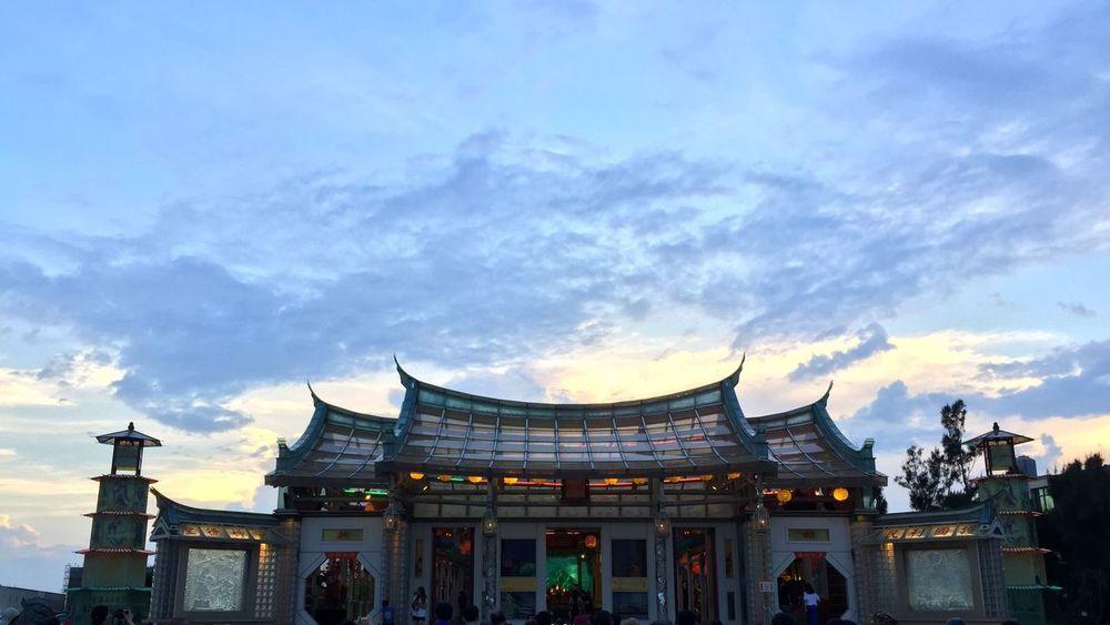 鹿港 玻璃媽祖廟 Glass Art Sunset Temple - Building Temple