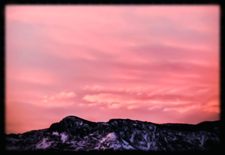 pink sunrise Sinrise Silhouette Sunlight Sky And Clouds Skylovers Sky Pink Color Pink Picturesque Mountain Snow Snowcapped Mountain Snow Covered Climbing High Contrast Portrait Nature Natural Beauty Natural Light Morning Light No People Mountain Outdoors Nature Beauty In Nature Landscape Awe Scenics Vacations Day Sky EyeEm Ready