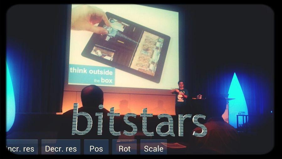 Think outside of the box! Very nice talk in the evening. I putSome AR To The Scene :) Mtc13 Bitstars Telekom Mtc13 #bug in #eyeem