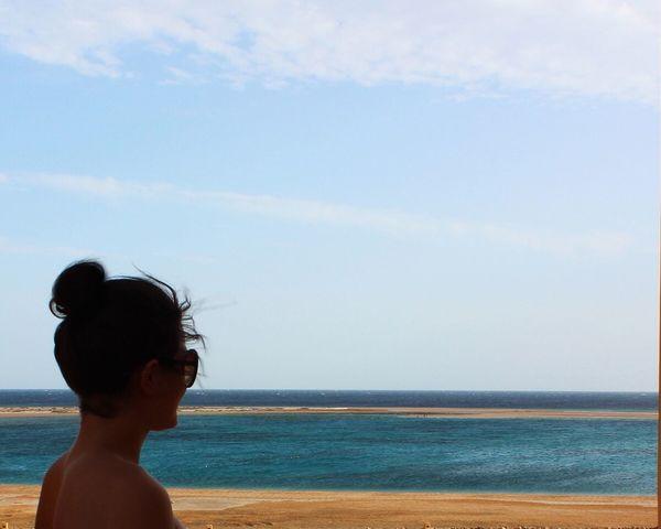Holiday POV Summer ☀ Summertime Summer Blue Sky Bluewater Sandbeach Hurghada Sea