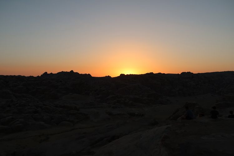 Arid Climate Barren Beauty In Nature Clear Sky Day Desert Horizon Over Land Jordam Jordan Jordan Middle East Landscape Middle East Middle Eastern Mountain Nature No People Outdoors Scenics Silhouette Sky Sunset Tranquil Scene Tranquility