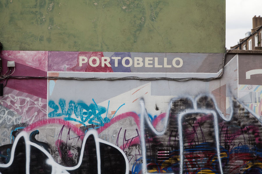 Postcode Postcards Text Graffiti Built Structure Street Art Architecture Day Outdoors No People Building Exterior Multi Colored City Close-up Sky Travel Destinations Europe City Urban London