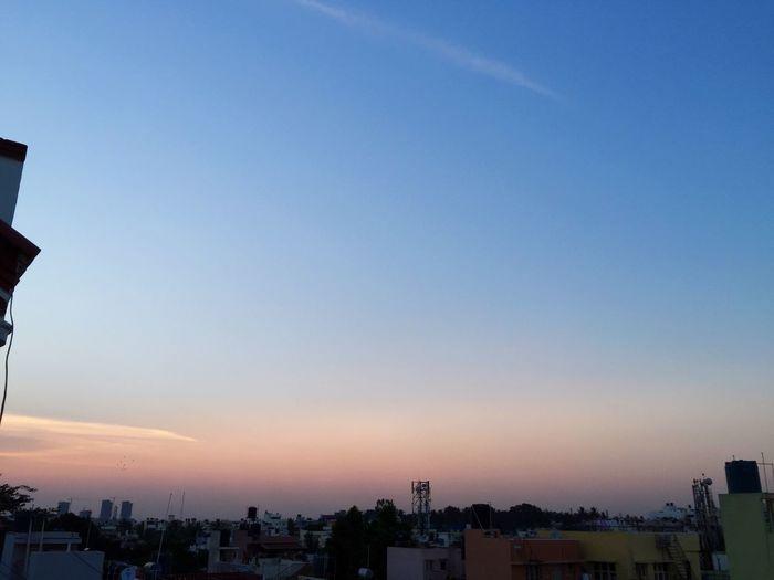 Evening #sun #set