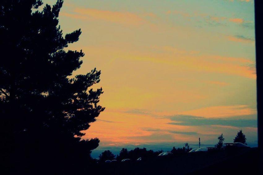Couple days ago... Finland Sunset First Eyeem Photo