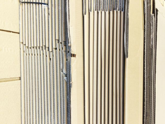 Cardboard Cardboard Box Abstract Lines Pattern Geometry Full Frame Close-up No People