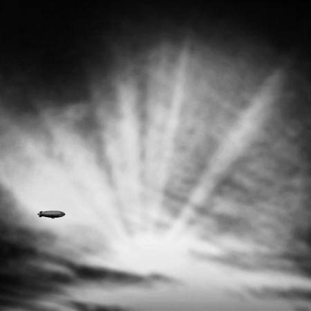 AMPt_community NEM Black&white NEM Clouds Airship Blimp Grryo NEM SciFi Tadaa Community Blackandwhite