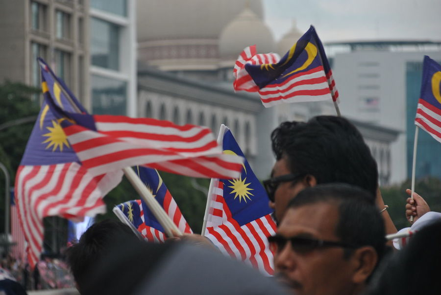 celebrating the 61th anniversary of independence .. it looks like all the races do not matter which religion is present celebrating and the flag of malaysia is flown DataranPutrajaya Nikon D3000 Putrajaya, Malaysia Architecture Brotherhood Built Structure City DataranPahlawan District Emotion Flag Freedom Full Frame Full Zoom Government Group Of People Happy Time Independence Malaysia Malaysian Men Merdeka61 Military National Icon Outdoors Patriotism People Potrait Pride Real People Striped Tamron18_200