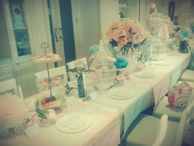 The good thing about life is you are alive and breathing.. Baby Shower! Samsungphotography Cafe Melancholic Hi!