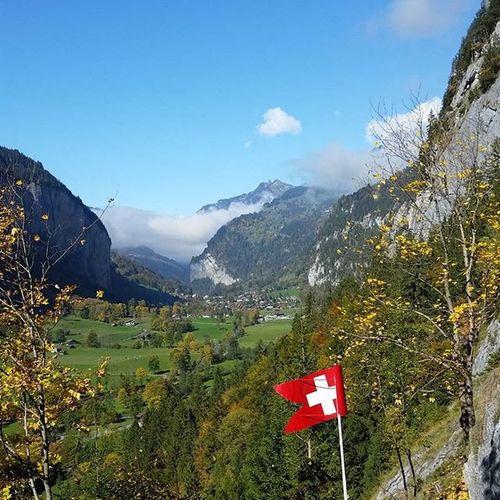 Jungfrau Jungfraujoch Glazier Water fall Wasserfälle Switzerland Jungfrauregion Travelstoke