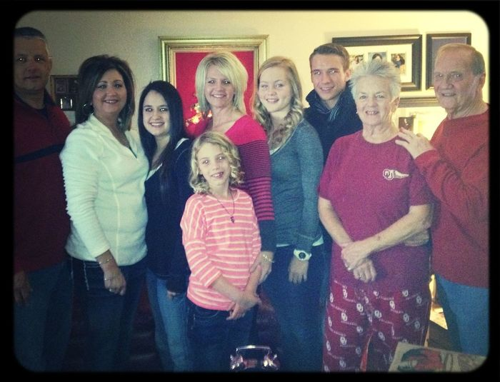 My beautiful family Christmas 2012