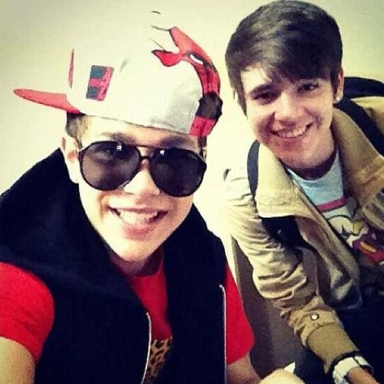 He Was There From The Beginning And Will Be There Til The End! Love You Buddy! @AlexConstancio