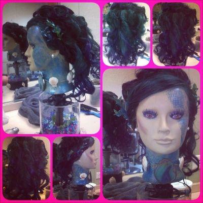 my competition mannequin head(: Loveit Seakreacher Sheisdope