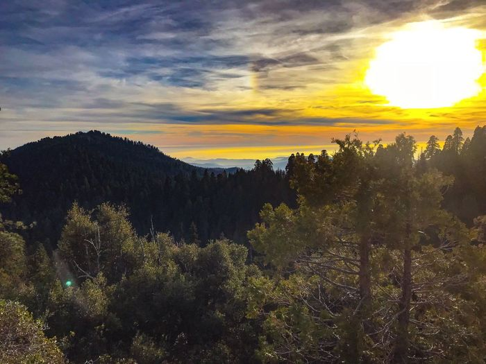 Sunset Kings Canyon Visalia, Ca Sequoia National Park Squaw Valley Sky Nature Beauty In Nature Tranquil Scene Outdoors first eyeem photo