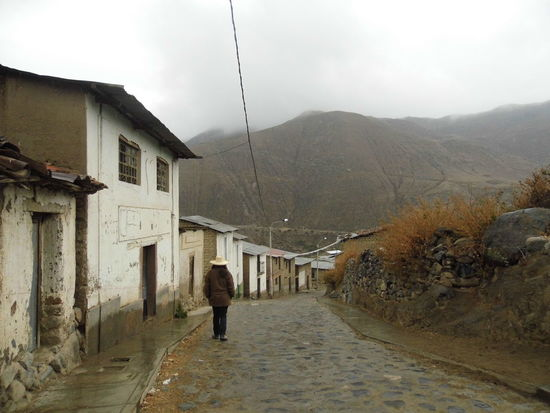 Ocaña, Ayacucho, Perú Adult Cloud - Sky Day One Person Outdoors People Rear View Sky The Way Forward Walking
