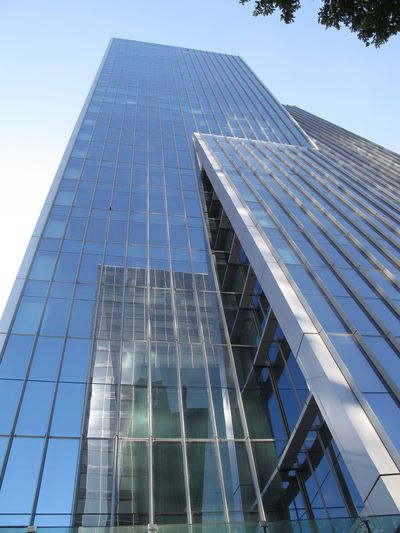 Reflexo Architecture Built Structure Building Exterior Low Angle View Day Skyscraper Modern No People Blue City
