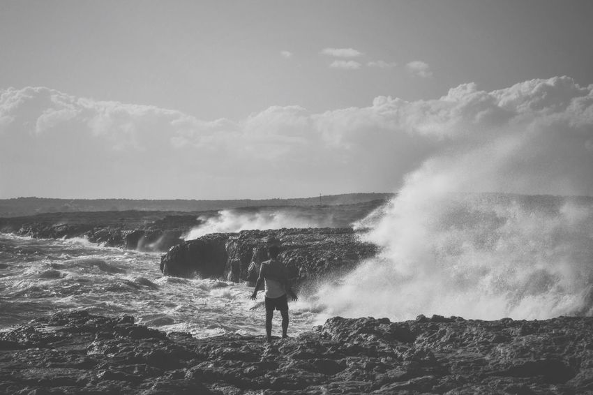 Water bending v2. Waterbender Erasmus Sea Cliff Wave Cape Greco The Great Outdoors With Adobe People Of The Oceans
