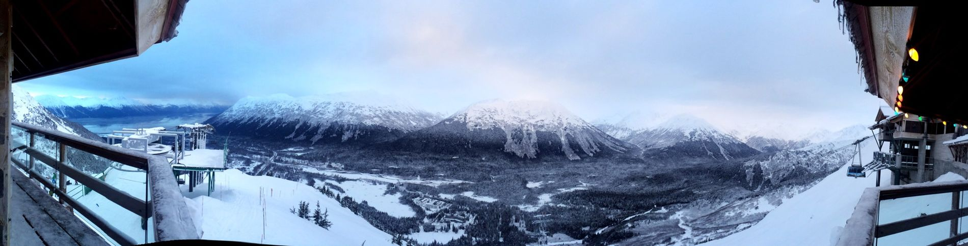 Amazing Winter Snowing Aynaphotography Panorama Clouds And Sky Alaska I Love It ❤ Mountains Enjoying The View