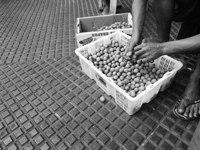 Noble Hands Black & White Close-up Crate Day Eyeem Philippines Food Freshness Fruit Hardwork Healthy Eating Huaweimate9 Huaweimobile Market Market Stall Mobile Photography Monochrome Occupation One Person Outdoors Real People Shotwithhuaweimate9 Smartphone Photography Taking Photos