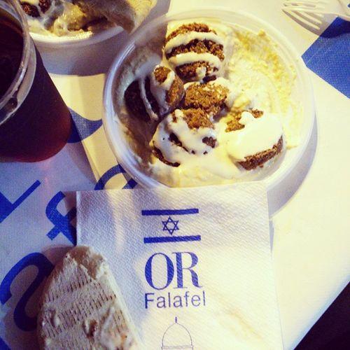 💜 Isreael Hummus Falafel