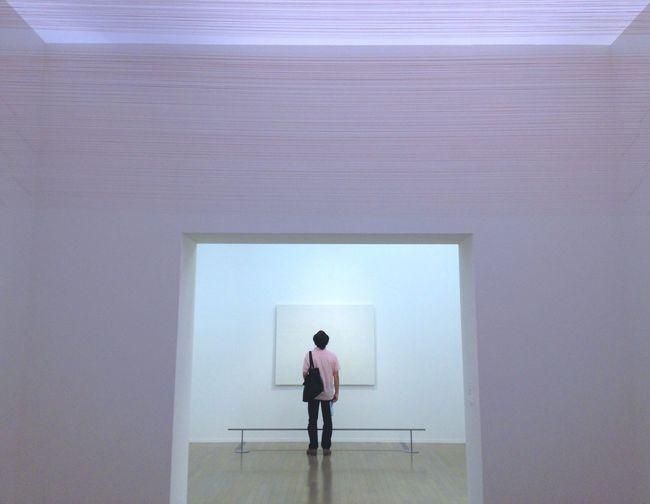 Art Art Museum Art Gallery LINE Red Indoors
