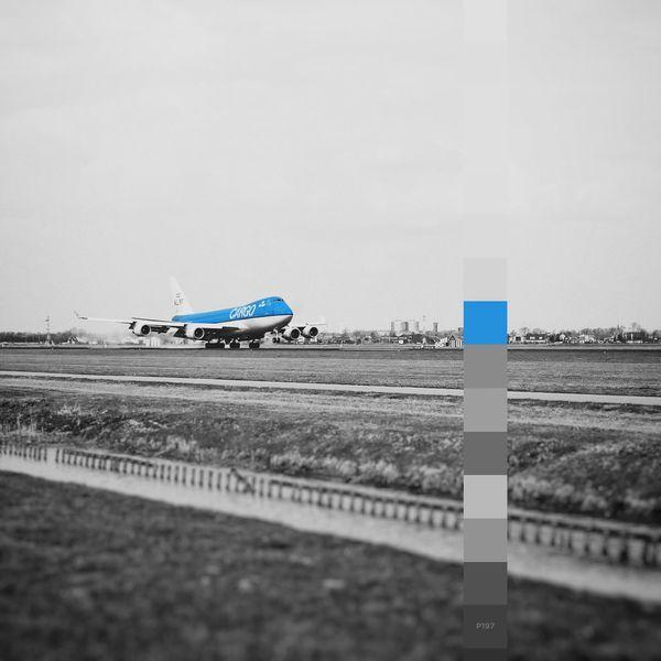 Building blocks. P197 One more today. Was behind on schedule. Getting Creative Bestofover Onephotoaday Creativity 365project2016 Building Blocks One Color Blackandwhite KLM KLM Cargo Blue Plane Dutch Boeing 747 Jumbo Landing Touchdown Airport Runway
